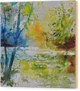Watercolor 015003 Wood Print