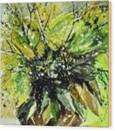 Watercolor 016070 Wood Print