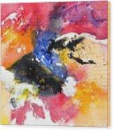 Watercolor 017081 Wood Print