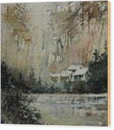 Watercolor 070608 Wood Print