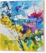 Watercolor 114052 Wood Print