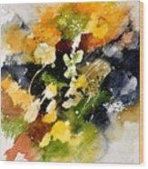 Watercolor 115002 Wood Print