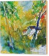 Watercolor 115021 Wood Print