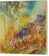 Watercolor 115060 Wood Print