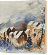 Watercolor 115082 Wood Print