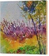 Watercolor 119060 Wood Print