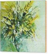Watercolor  120406 Wood Print