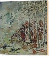 Watercolor 200307 Wood Print