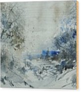 Watercolor  210307 Wood Print