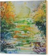 Watercolor  230507 Wood Print