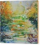 Watercolor  230507 Wood Print