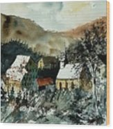 Watercolor  260107 Wood Print