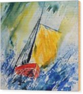 Watercolor 280308 Wood Print