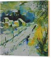 Watercolor 309562 Wood Print