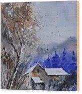 Watercolor 45512113 Wood Print