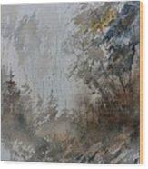 Watercolor 614010 Wood Print