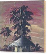 Watercolor 73 Wood Print