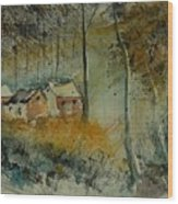 Watercolor  900170 Wood Print