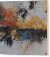 Watercolor 901150 Wood Print