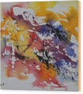 Watercolor 902022 Wood Print