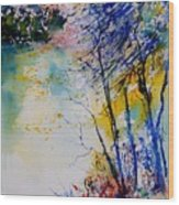Watercolor 902081 Wood Print