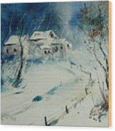 Watercolor 905001 Wood Print