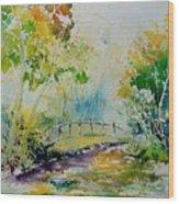 Watercolor  908020 Wood Print
