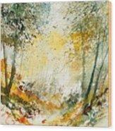 Watercolor  908021 Wood Print