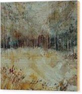 Watercolor 9090722 Wood Print