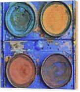 Watercolor Box Wood Print