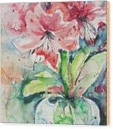 Watercolor Series 139 Wood Print