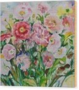 Watercolor Series No. 258 Wood Print
