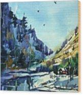 Watercolor3810 Wood Print