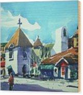 Watercolor3823 Wood Print