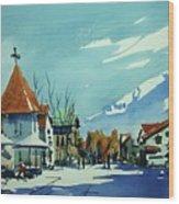 Watercolor3839 Wood Print