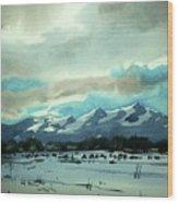 Watercolor4018 Wood Print