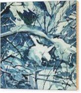 Watercolor4586 Wood Print