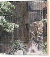 Waterfall 13 Wood Print