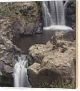 Waterfall 54 Wood Print