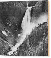 Waterfall, C1900 Wood Print