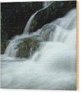 Waterfall Cascading Into Li Jiang River Wood Print