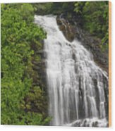 Waterfall Closeup Wood Print