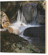Waterfall Glenveagh National Park Wood Print