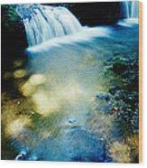 Waterfall Hilo Hi Wood Print