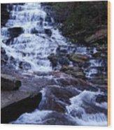 Waterfall In Georgia Wood Print