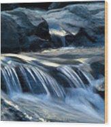 Waterfall Locomotion Wood Print