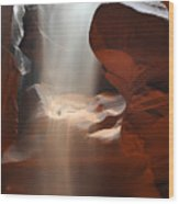 Waterfall Of Sand 2 Wood Print