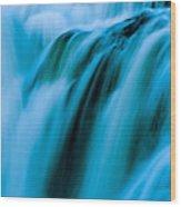 Waterfall Series Wood Print