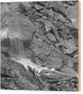 Waterfall Stream Wood Print