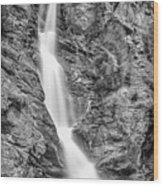Waterfall Study 1 Wood Print